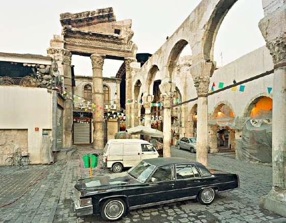 Alfred Seiland: Jupiter Tempel, Damaskus, Syrien, 2011 © Alfred Seiland