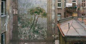 Harf Zimmermann Brandwand #1, 1992, 138 x 177 cm © Harf Zimmermann